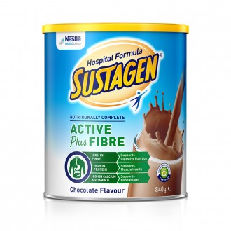Sustagen Hospital Formula Active+Fibre Chocolate 840 g