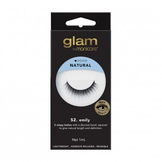 Glam By Manicare 52. Emily Mink Effect Lashes 1 Pair