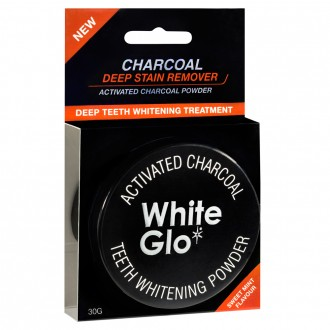 White Glo Activated Charcoal Teeth Whitening Powder 30 g