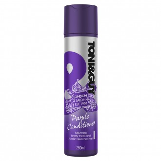 Toni & Guy Purple Conditioner for Blonde Hair 250 mL