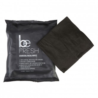 Beauty Essentials Charcoal Make-Up Remover 25 wipes