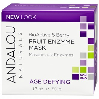 Andalou Naturals Age Defying Bioactive 8 Berry Fruit Enzyme Mask 50 g