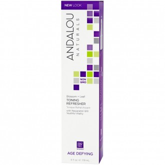 Andalou Naturals Age Defying Blossom + Leaf Toning Refresher 178 mL