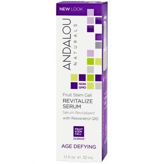 Andalou Naturals Age Defying Fruit Stem Cell Revitalize Serum 32 mL