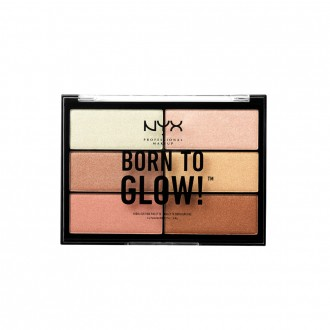 Nyx Professional Makeup Born To Glow Highlighting Palette 28.8 g