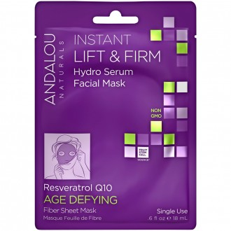 Andalou Naturals Instant Lift & Firm Hydro Serum Facial Sheet Mask 18 mL