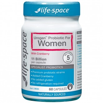 Life Space Urogen™ Probiotic For Women 60 capsules