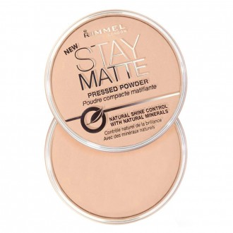 Rimmel Stay Matte Pressed Powder 1 ea (Translucent)