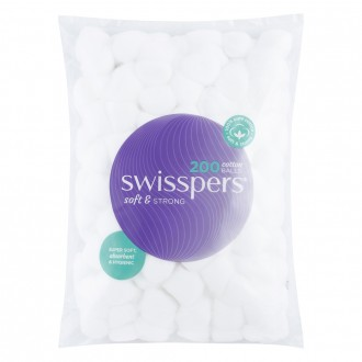 Swisspers Cotton Balls 200 pack