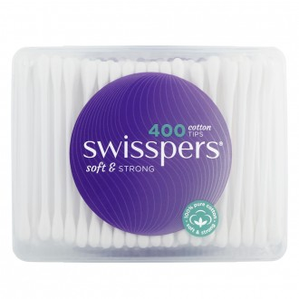Swisspers Cotton Tips 400 pack