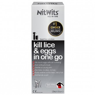 Nitwits Head Lice Solution 120 mL