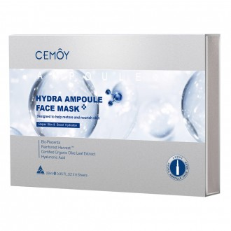 Cemoy Hydra Ampoule Face Mask 5 Pack