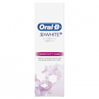 Oral-b 3D White Whitening Therapy Sensitivity Care Toothpaste 95 g