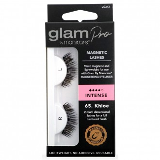 f43958bd20e Glam By Manicare Glam Pro Magnetic Lashes 65. Khloe 1 Pair
