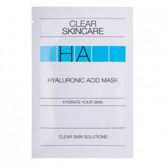 Clear Skincare Hyaluronic Acid Mask 1 ea