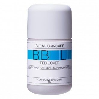Clear Skincare BB Red Cover Cream - Light 50 g