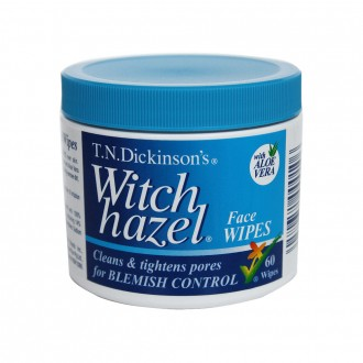 T.n.dickinson's Witch Hazel Face Wipes 60 pack