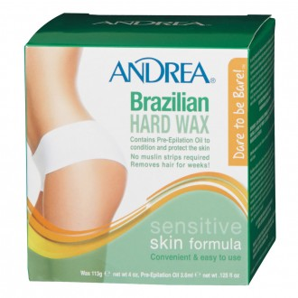 Andrea Brazilian Hard Wax 1 pack