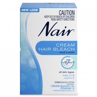 Nair Cream Hair Bleach For Face & Body 1 pack