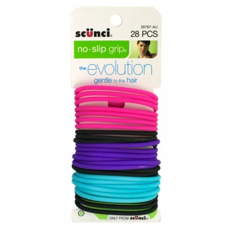 Scunci Evolution Elastics 28 pack