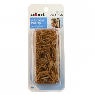 Scunci Blonde Polybands 300 pack