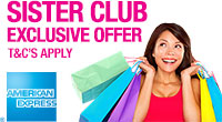 Sister Club American Express Offer