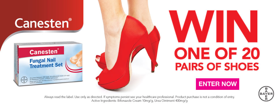 Canesten Shoes of Prey Consumer Promotion