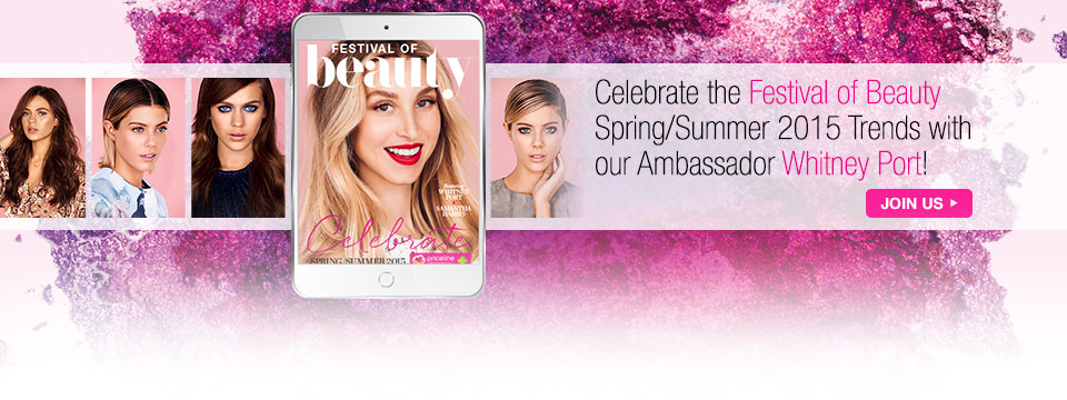 Celebrate Festival of Beauty with Priceline and Whitney Port