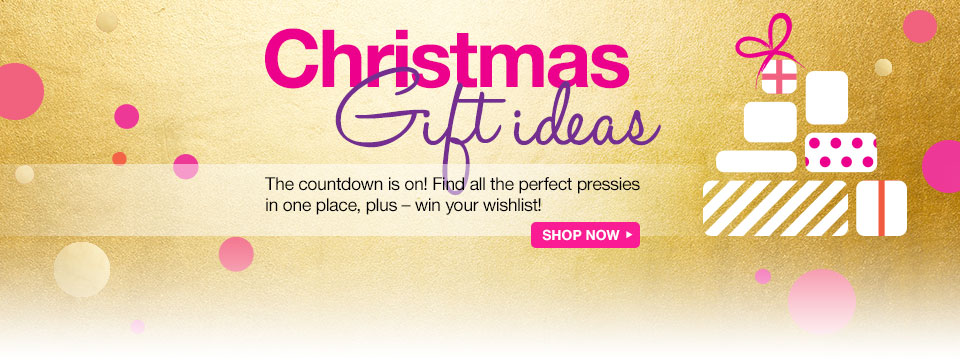 All I want for Christmas - start your Christmas shopping now!