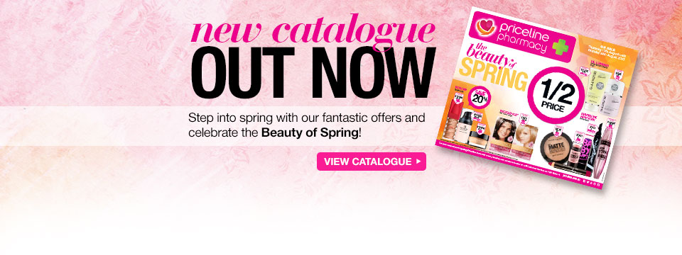 Priceline new catalogues out now, on selected cosmetics, skincare, fragrances and more.