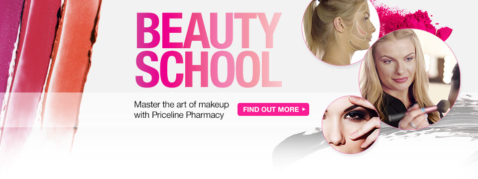 Beauty School: Master the art of Makeup with Priceline