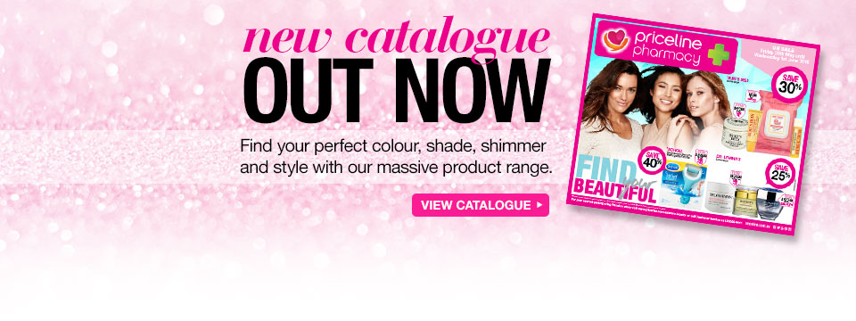 Catalogues out now + free shipping on orders over $100 at Priceline.