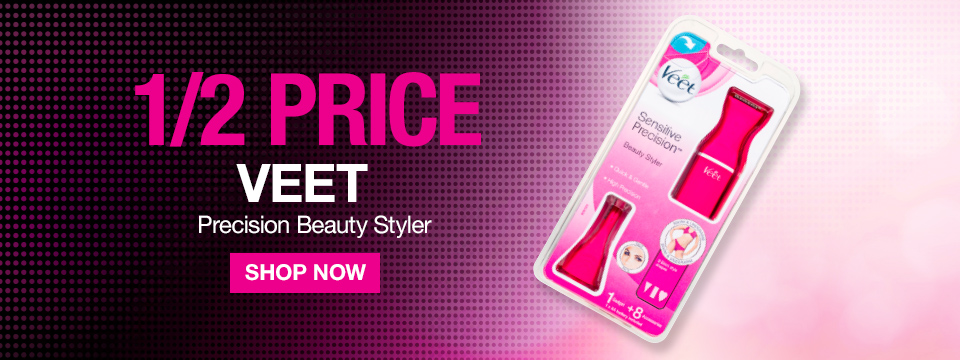 Half Price Veet Precision Beauty Styler