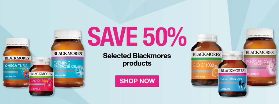 Save 50% on Blackmores