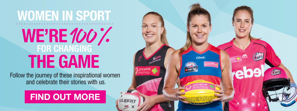 Priceline, Women In Sport